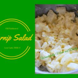 Old Fashioned Turnip Salad