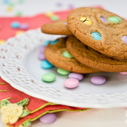 OLD FASHIONED M and M COOKIES