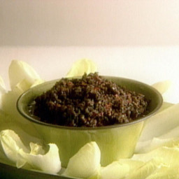 Olive and Sun-Dried Tomato Tapenade with Endive Leaves