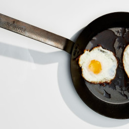 Olive Oil and #8211;Basted Fried Eggs