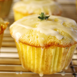 Olive Oil Cakes with Lemon and Thyme