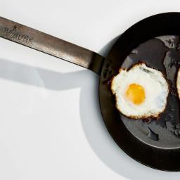 Olive Oil–Basted Fried Eggs