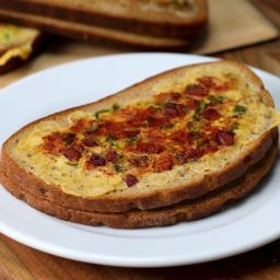 Omelette Toasts