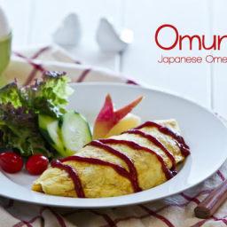 Omurice (Japanese Omelette Rice) Recipe