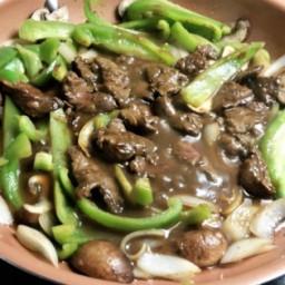 On Luck's Hoisin Pepper Steak Stir-Fry Recipe