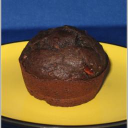 One Bowl Chocolate Fiber Muffins