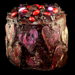 One Bowl Dark Chocolate Raspberry Layer Cake