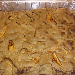 One bowl Fresh apple cake