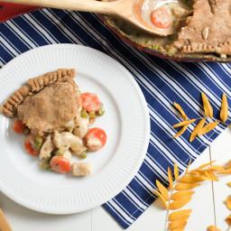 One Dish Chicken Pot Pie Skillet Recipe