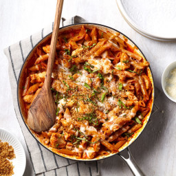 One-Pan Chicken Parmesan Pasta