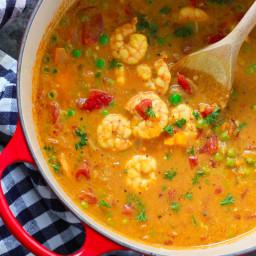 One-pan Coconut Shrimp Curry