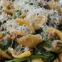 One Pan Orecchiette Pasta