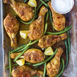 One Pan Tandoori Chicken
