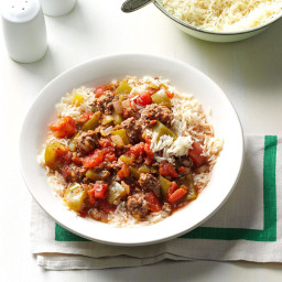 One-Pot Beef and Pepper Stew Recipe