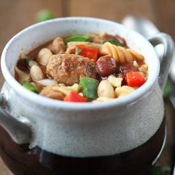 One Pot Italian Sausage Chili