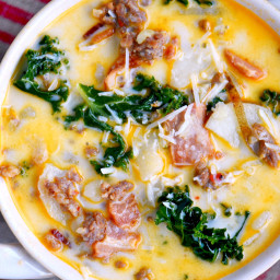 One Pot Olive Garden Zuppa Toscana Soup