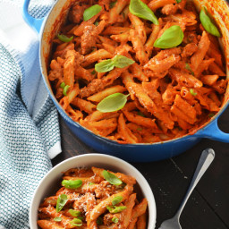One Pot Penne Alla Vodka with Sausage