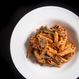 One Pot Pressure Cooker Penne Rigate Pasta