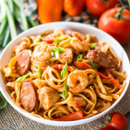 One Pot Spicy Pasta