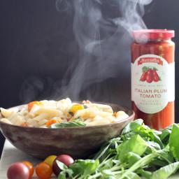 One Pot Vegan Pasta & Marinara Sauce