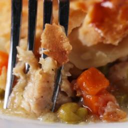 One-skillet Chicken Pot Pie Recipe by Tasty