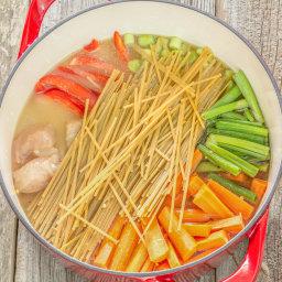 One Pot Wonder Chicken Lo Mein Recipe