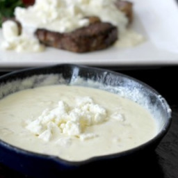 Onion Feta Cream Sauce Recipe