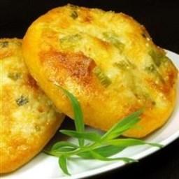 Onion & Garlic Biscuit Flat Bread