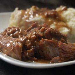 Onion & Mushroom Beef Roast