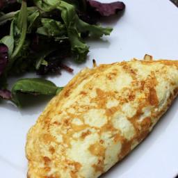 Onion Omelette - Gluten Free