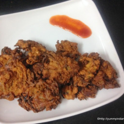Onion Pakoda Recipe, Onion Pakora Recipe, Kanda Bhaji