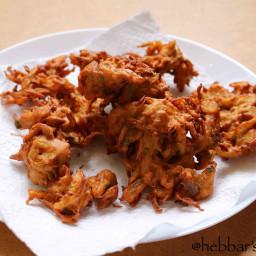 onion pakoda recipe | pakora recipe | eerulli bajji | neerulli baje | khand