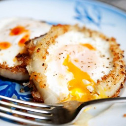Onion Ring Eggs