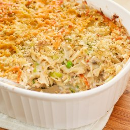 Oodles of Noodles Tuna Casserole