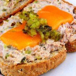 Open Face Tuna Sandwich