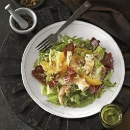 Orange and Black Pepper Shrimp Salad