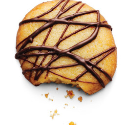 Orange and Dark Chocolate Cookies