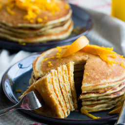 Orange and Ricotta Pancakes