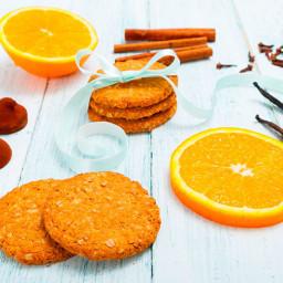 Orange Cookies 🍪