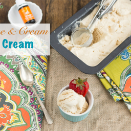 Orange & Cream Ice Cream