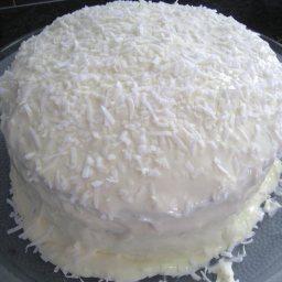 Orange Dreamsicle Layer Cake