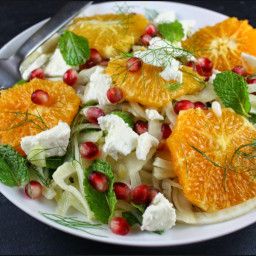 Orange, Fennel and Caper Salad - Milk
