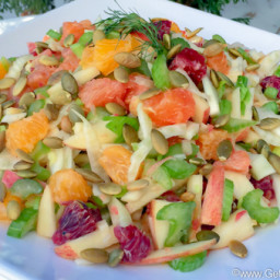 Orange Fennel and Celery Salad