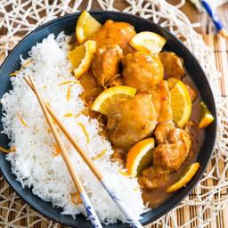 Orange Glazed Chicken – Asian Style