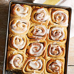 Orange-Honey Sweet Rolls