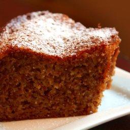 Orange Honey Walnut Cake
