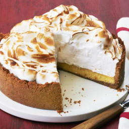 Orange-Lime Pie with Meringue Topping