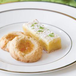 Orange Marmalade Thumbprint Cookies