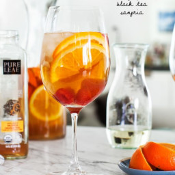Orange Peel Black Tea Sangria