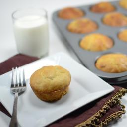Orange, Pineapple and Walnut Muffins